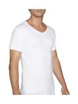 Camiseta M/C cuello pico