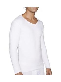 Camiseta M/L cuello pico