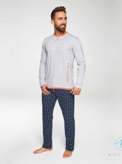 Pijama largo hombre