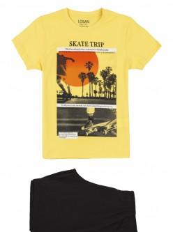 Conjunto de camiseta y bermuda