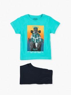 Conjunto camiseta y bermuda