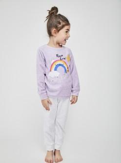 Pijama niña Rainbow