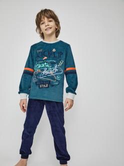 Pijama niño mayor skate rule style