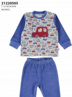 Pijama niño city cars